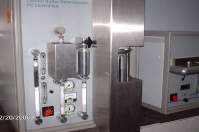 Material analysis machine for S&C(Germany)