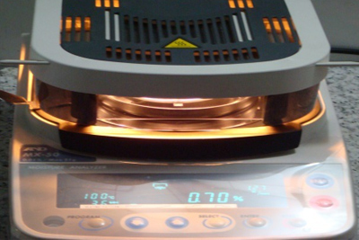 Moisture content test machine(Japan)