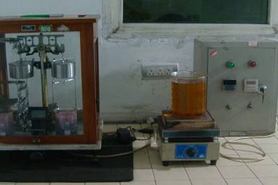 Porosity & Density test machine